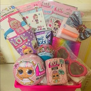 LOL DOLL GIFT BASKET GREAT DEAL PERFECT GIFT